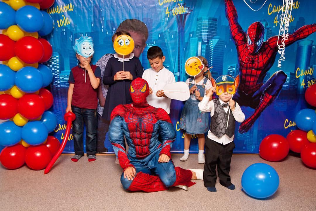 человек паук на детский праздник кемерово