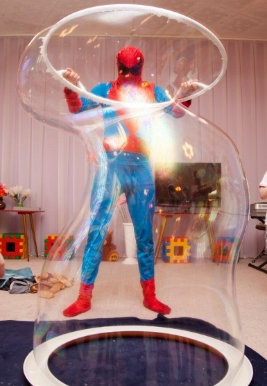 аниматор человек паук на день рождения в кемерово