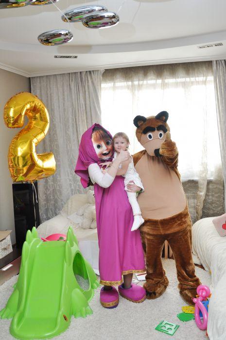 ростовые куклы Маша и Медведь в Кемерово
