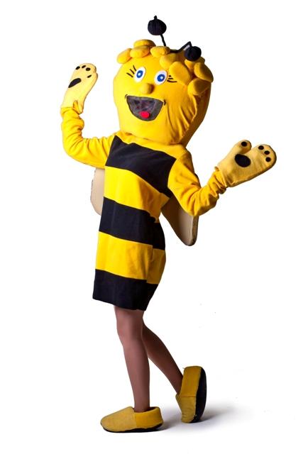 ростовая кукла аниматор пчелка майя